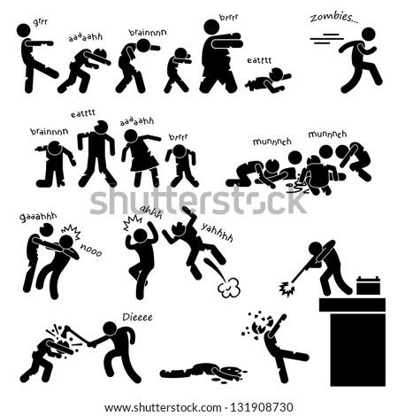 zombie undead attack apocalypse