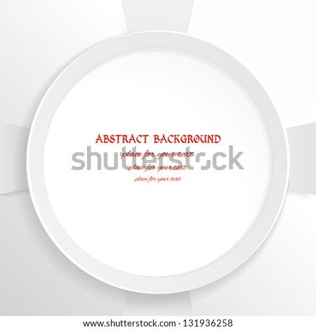 abstract background and a