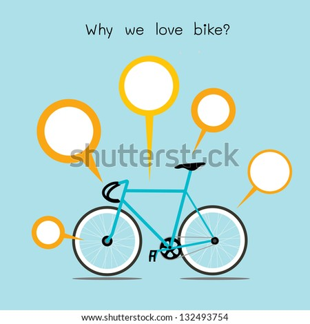 why we love bike bicycle with