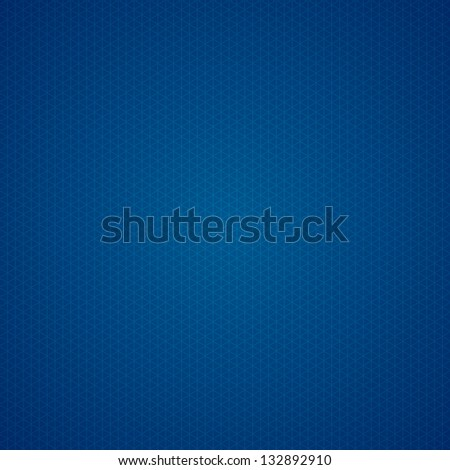 triangle dark blue graph paper