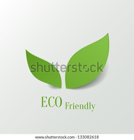 green eco friendly background