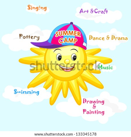 Vector Kids Summer Cartoon Free Download 18845
