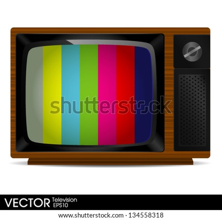 portable television with color