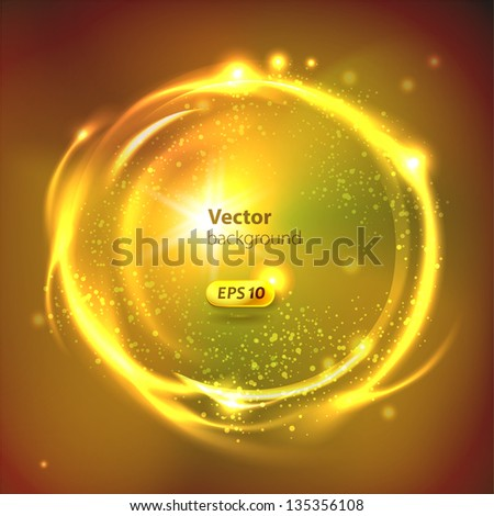 vector glossy sphere abstract