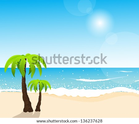 perfect tropical white sand