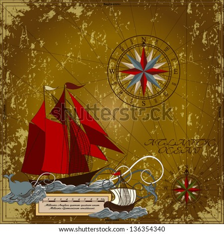 nautical vector illustration
