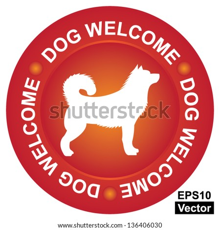 vector   pet friendly concept
