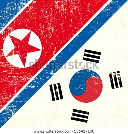 north korean and south korean