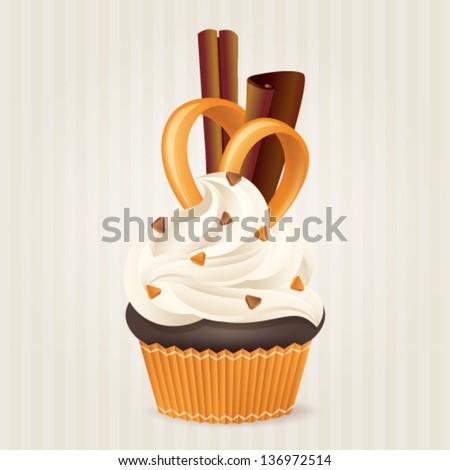 cute vector caramel and