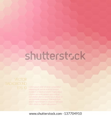 colorful mosaic banner for your