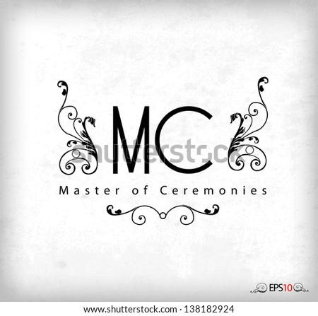 master of ceremonies label