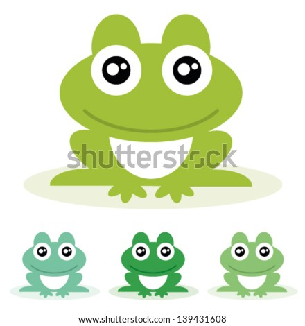 frog vector illustration
