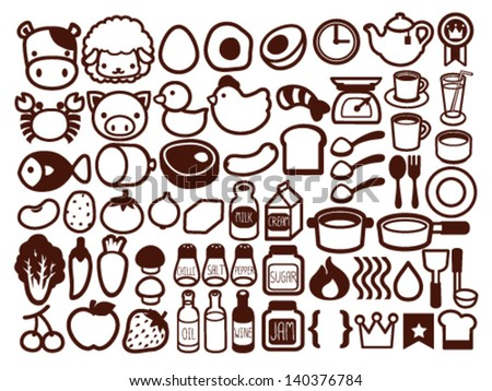 50  food and drink icon