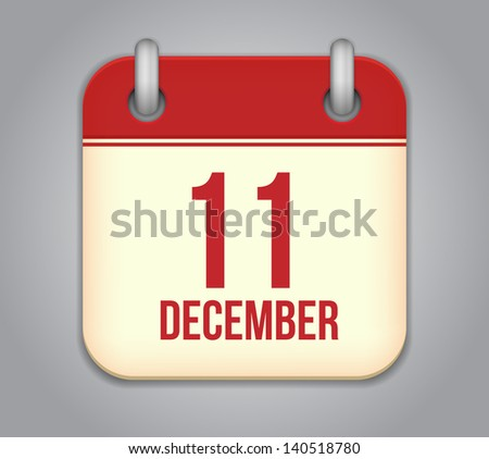 vector calendar app icon 11