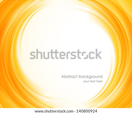 abstract background in orange