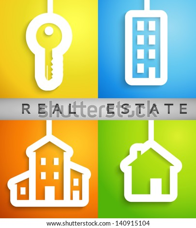 real estate applique background