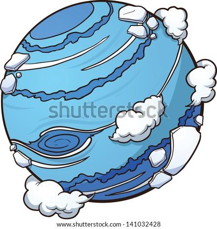 Neptune Clip Art
