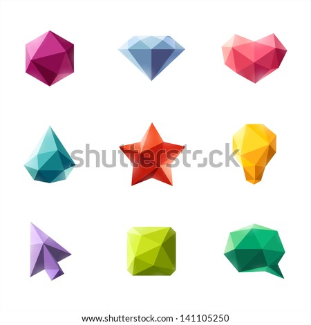 polygonal geometric figures