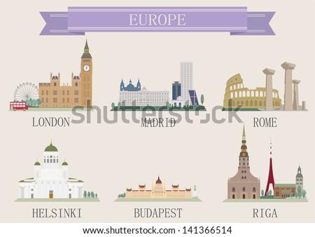 city symbol europe