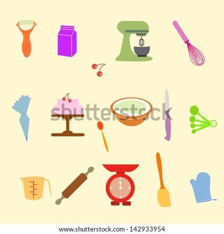 Baking Tools Vector Vector Baking Tools Free Vector Download 1493 Free Vector For
