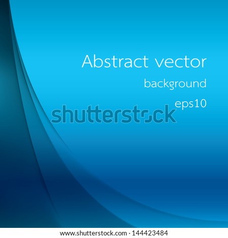 blue background with smooth