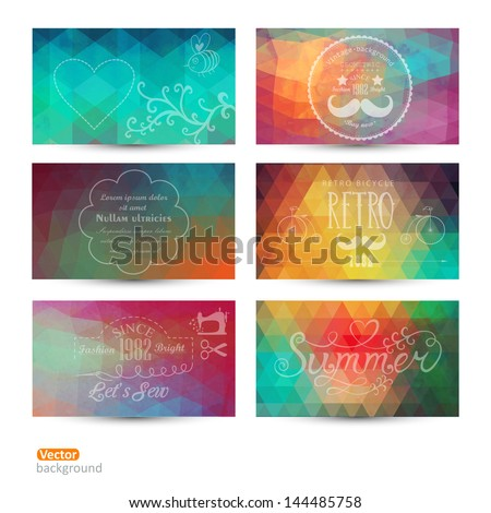 grunge vector banner abstract