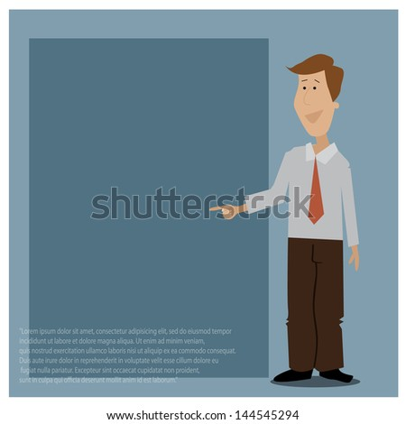 vector characters business