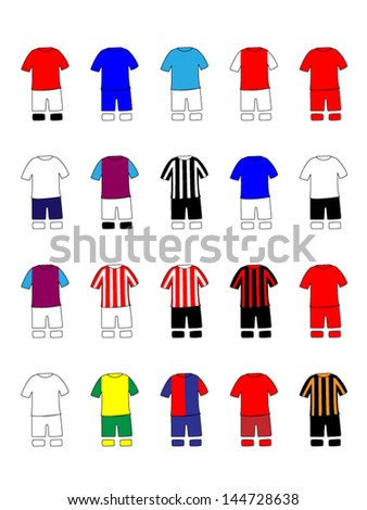 english league clubs kits 2013