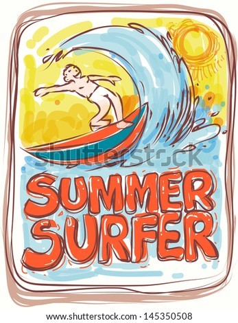 summer poster theme