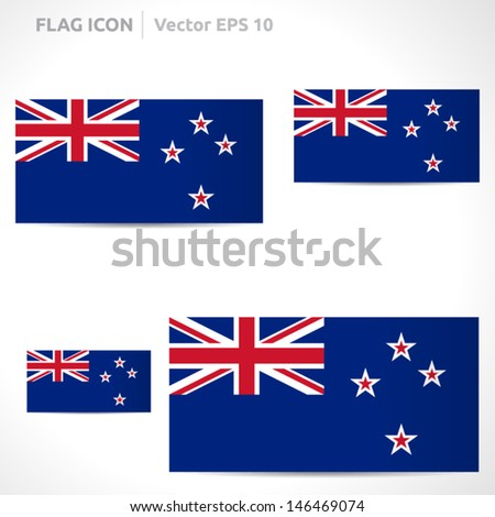 new zealand flag template