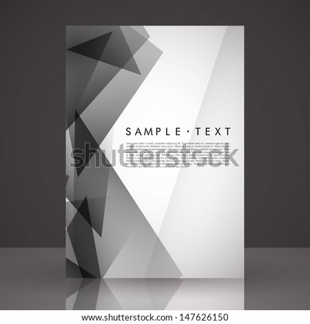 Black and white flyer templates free vector download 21762 Free – Black Flyer Template