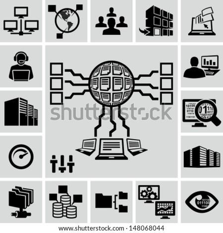 servers  network  database