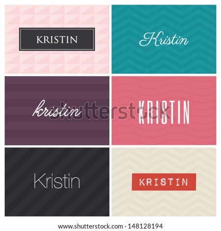 name kristin  graphic design