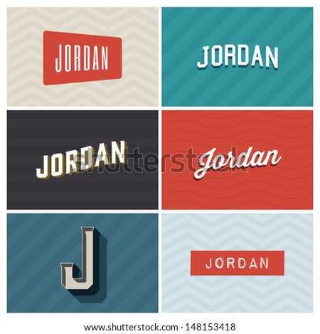 name jordan  graphic design