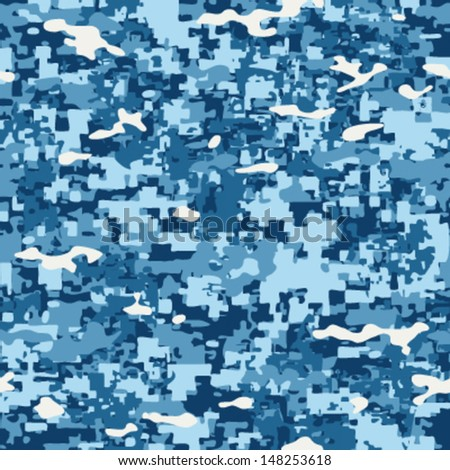 baby blue ocean camouflage