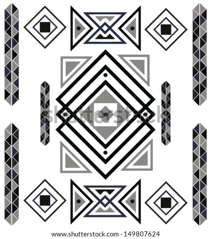 aztec design pattern
