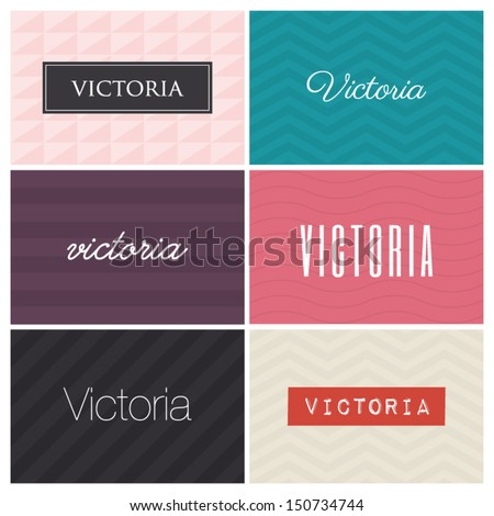 name victoria  graphic design