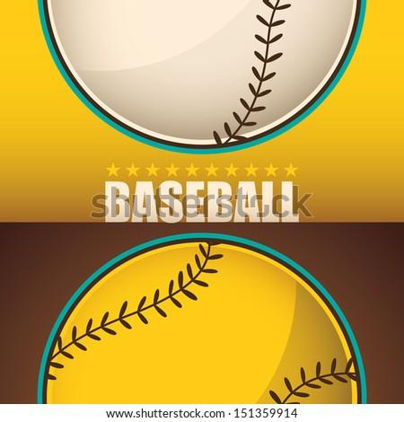 baseball background vector