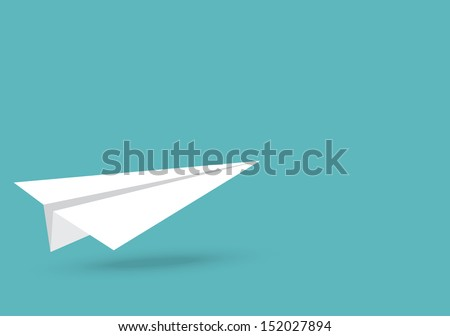 vector illustration of paper