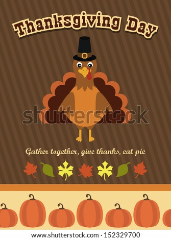 thanksgiving card design