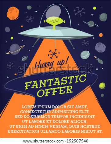 fantastic offer in space retro