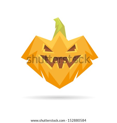 pumpkin isolated on a white