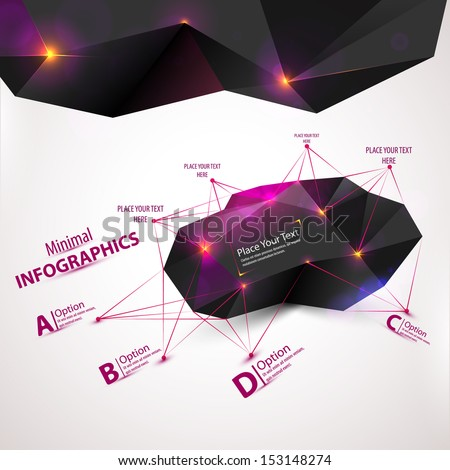 3d abstract mesh background