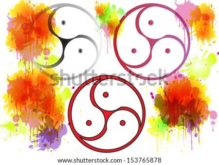 bdsm symbol triskelion