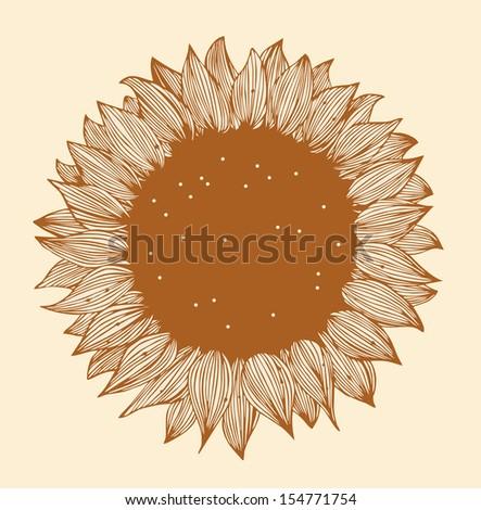 sunflower image design floral