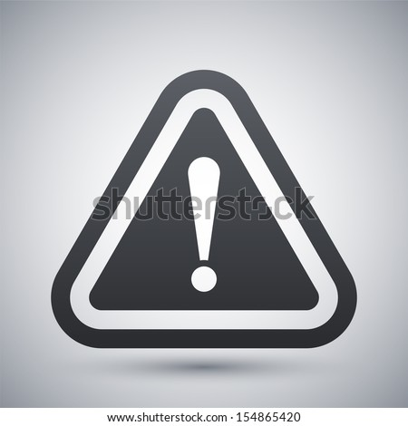 vector attention sign with