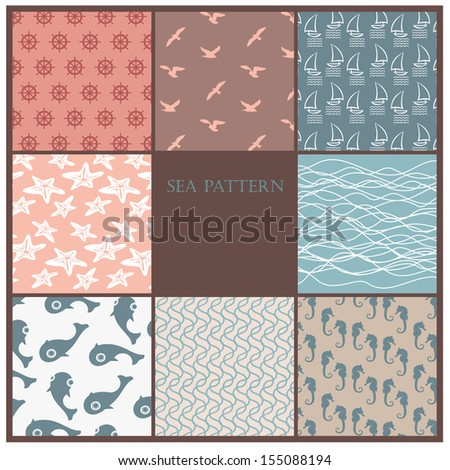 sea set pattern