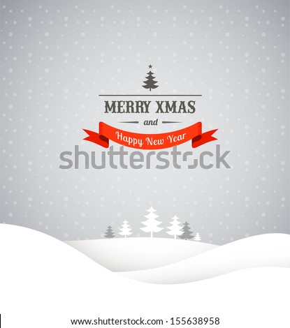 stock-vector-christmas-retro-greeting-card-and-background