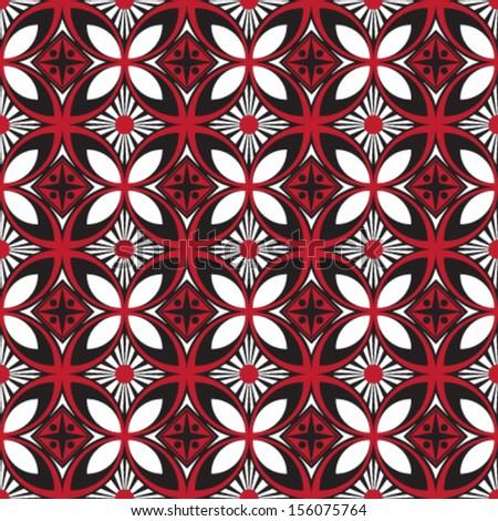geometric african inspired