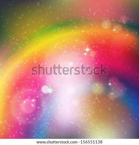 vector background with cosmic